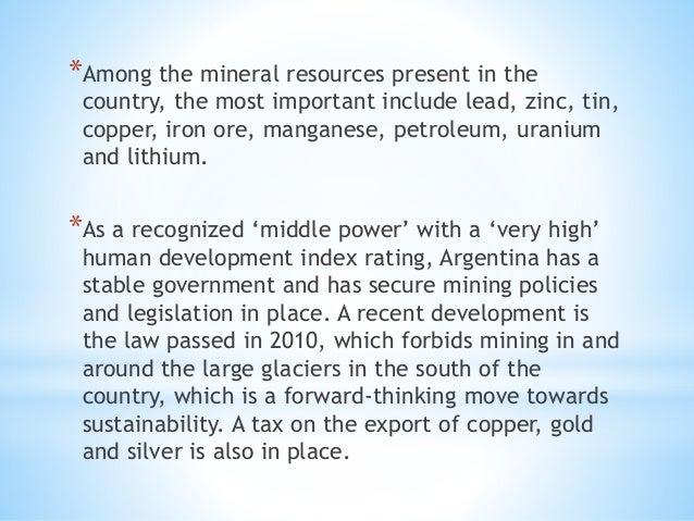 Argentina Sustainable Development