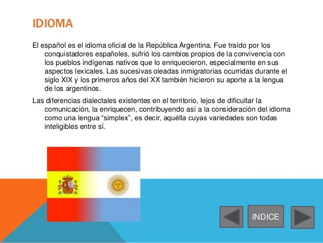 lengua argentina