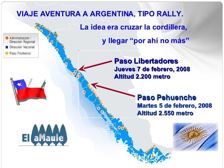 """VIAJE AVENTURA A ARGENTINA, TIPO RALLY. La idea era cruzar la cordillera,  y llegar """"por ahí no más"""" Paso Libertadores Jue..."""