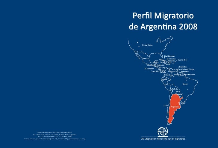 Perfil Migratorio de Argentina 2008