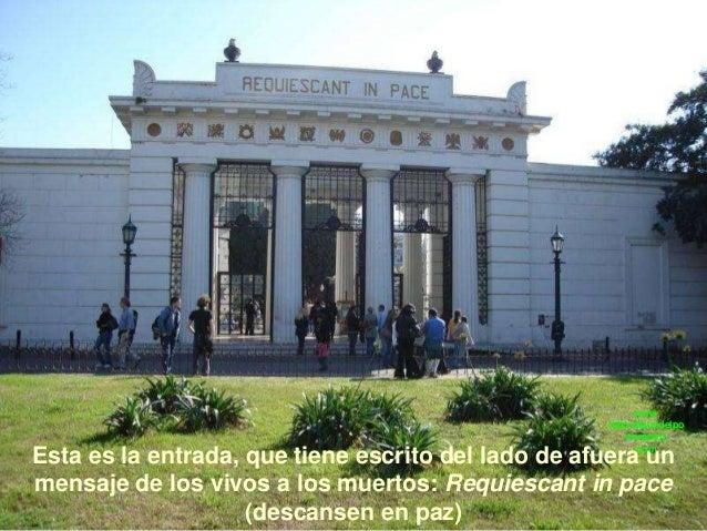 Argentina cementerio de la recoleta for Cementerio jardin de paz buenos aires