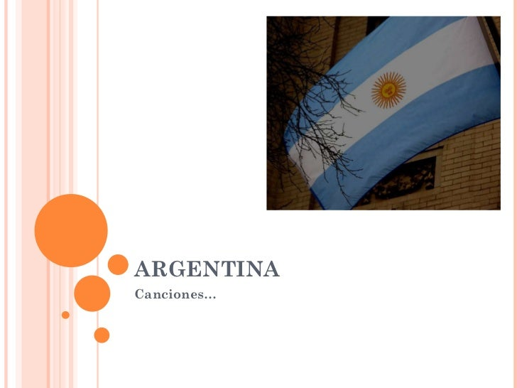 ARGENTINA Canciones…