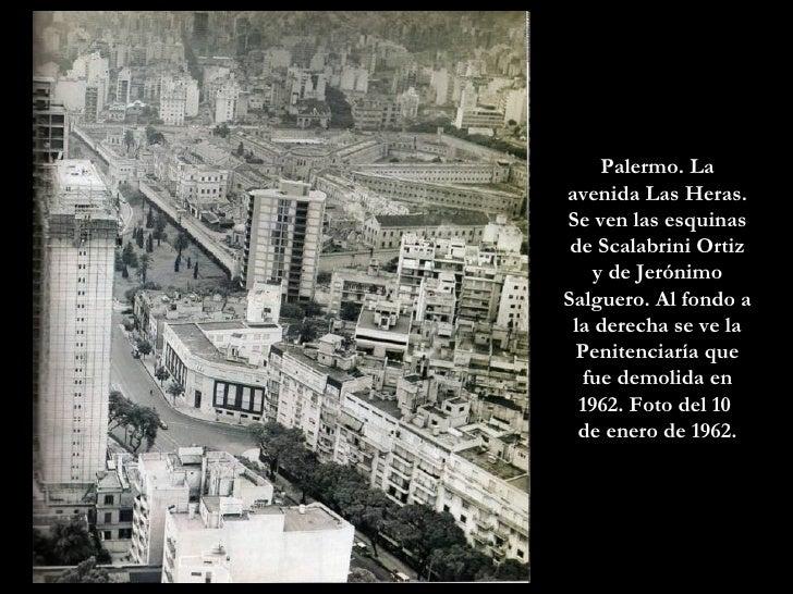 Palermo. La avenida Las Heras. Se ven las esquinas de Scalabrini Ortiz y de Jerónimo Salguero. Al fondo a la derecha se ve...