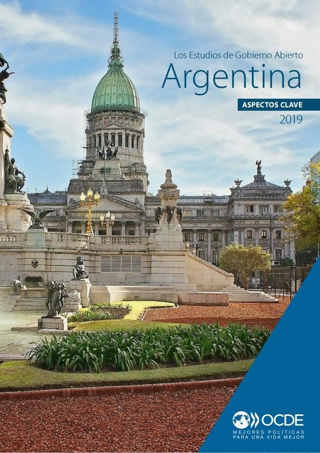 Argentina Los Estudios de Gobierno Abierto ASPECTOS CLAVE 2019