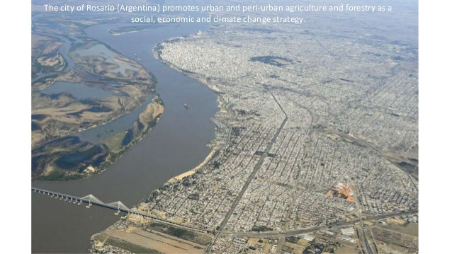 The city of Rosario (Argentina) promotes urban and peri-urban agriculture and forestry as a social, economic and climate c...