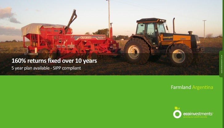 Argentine Agricultural Farmland Prospectus