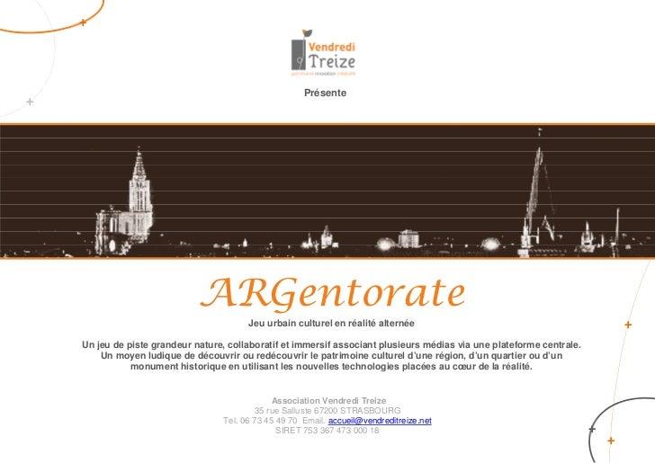+                                                        Présente+                              ARGentorate               ...