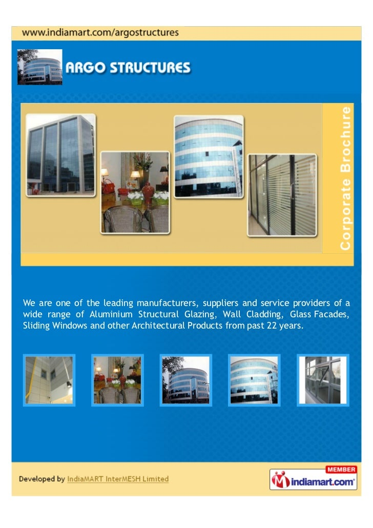 We are one of the leading manufacturers, suppliers and service providers of awide range of Aluminium Structural Glazing, W...