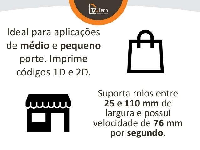 Argox OS-214 Plus - Impressora de Etiquetas e Código de Barras Slide 3