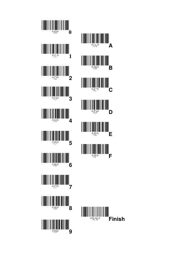 Symbol Ls2208 Programming Sheet Heartpulsar