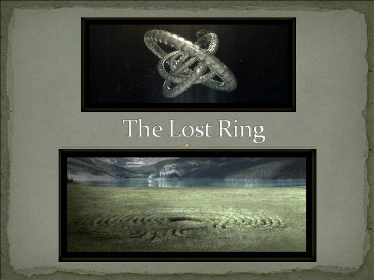 ARG THE LOST RING