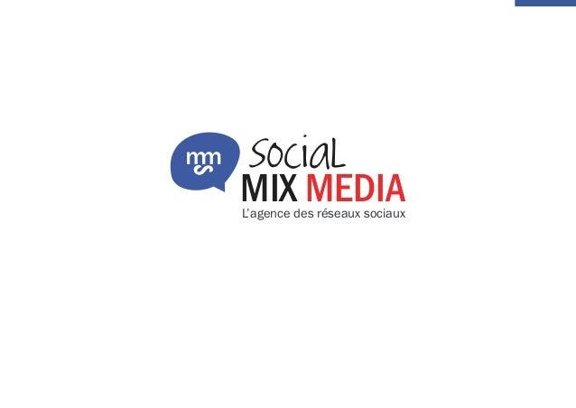 MIX MEDIA SocialS L'agence des réseaux sociaux