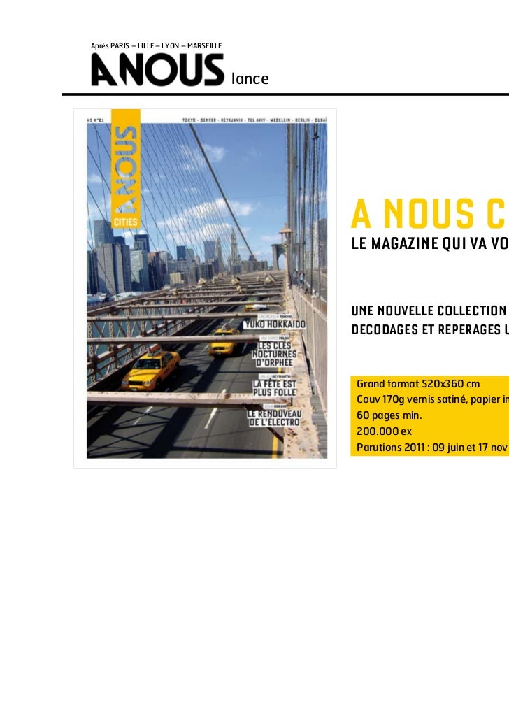 Après PARIS – LILLE – LYON – MARSEILLE                                         lance                                      ...