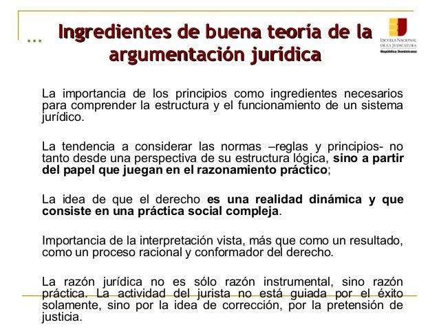 ENJ-200 Importancia de la Argumentación Jurídica.