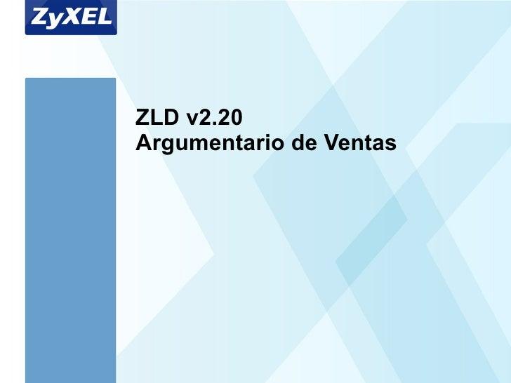 ZLD v2.20  Argumentario de Ventas