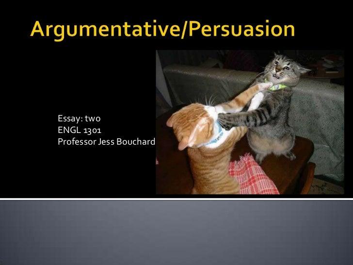 Essay: twoENGL 1301Professor Jess Bouchard