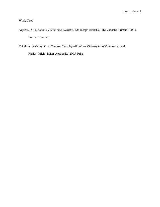 argumentative essay 4