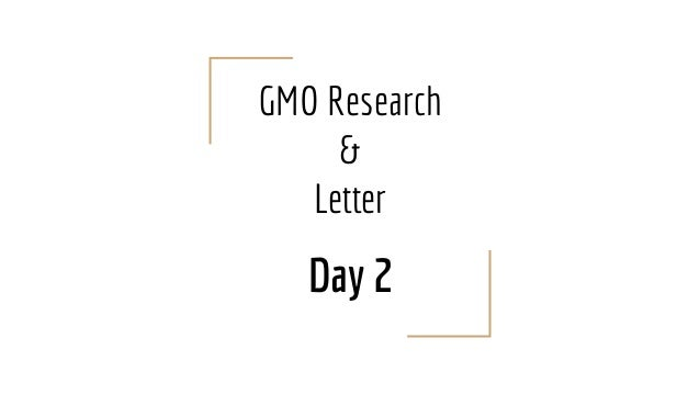 the effects of gmo essay example A cause and effect essay is the type of paper that author is using to analyze the causes and effects of a particular action or event a curriculum usually includes this type of exercise to test your ability to understand the logic of certain events or actions.