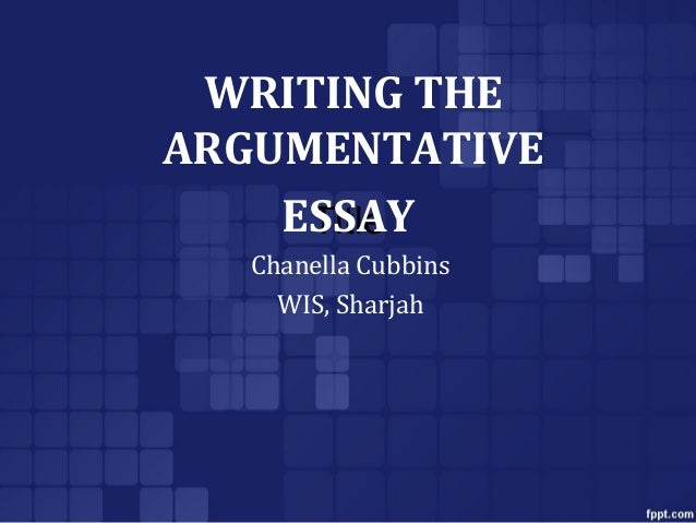 write argumentative essay powerpoint This pygmalion by george bernard shaw argumentativewriting lesson focuses on text dependent analysis and using text evidence as support to develop a constructed response / essay the lesson comes complete with a brainstorming section, a thesis statement development component, and an argumentative writing tutorial no.
