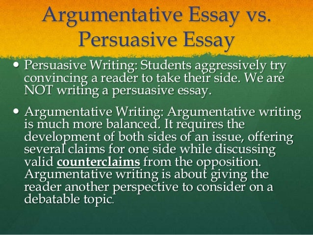 Argumentative essay national service