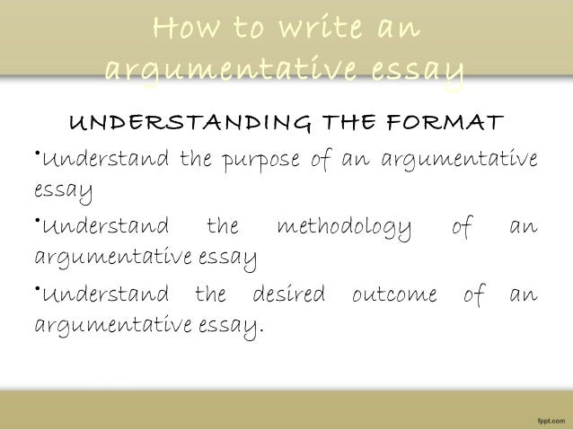 Argumentative Essay  How To Write An Argumentative Essay Understanding The Format  Critical Essay Thesis Statement also What Is A Thesis In An Essay  Essay About Healthy Diet