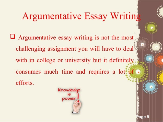 argumentative essay outline page 8 conclusion 9 page 9 argumentative essay writing