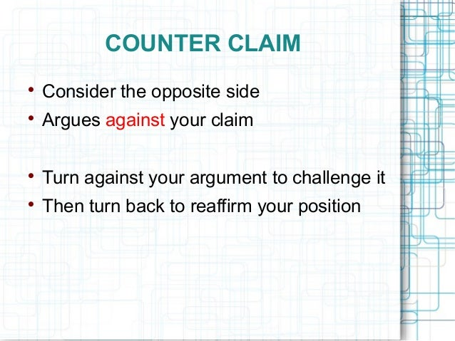 claims for argumentative essays