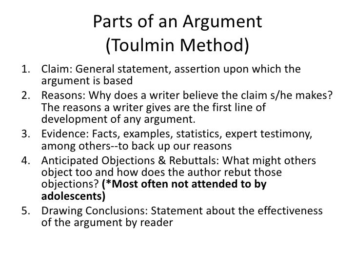 Line Drawing Fallacy Example : Developing argumentive discourse writing