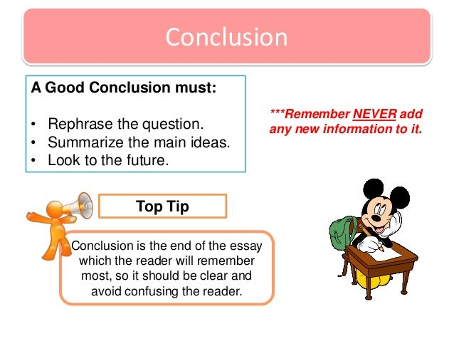 good conclusions for argumentative essays