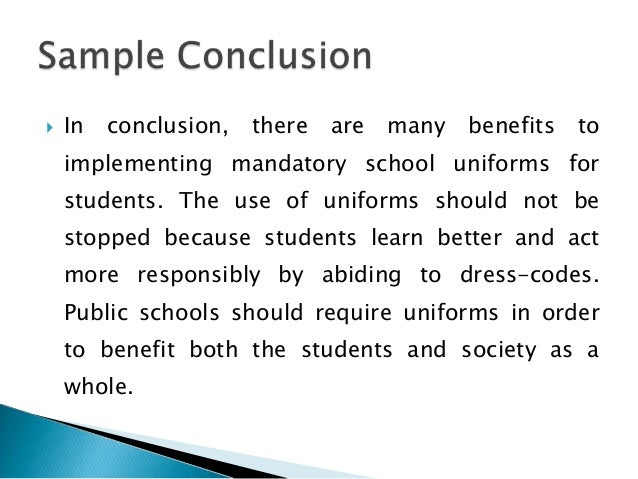 Essay In English For Students School Uniform Should Be Required Persuasive Essay Term Paper  Essay About Healthy Food also Science And Technology Essay School Uniforms Persuasive Essay  Koziythelinebreakerco Short Essays For High School Students