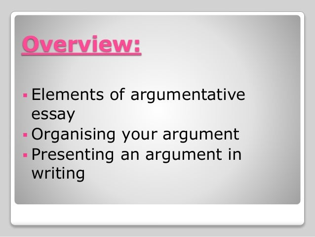 Argumentative Writing - PowerPoint PPT Presentation