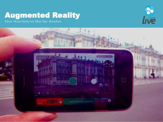 Augmented Reality Idee HeerlenLive Martijn Senden