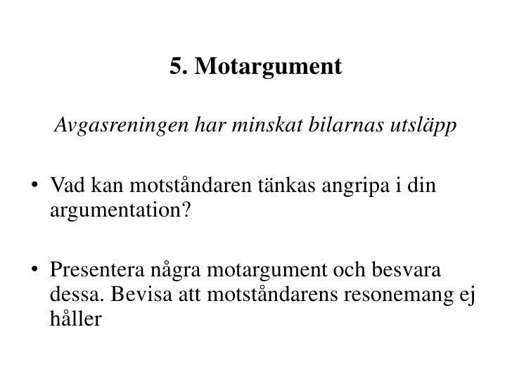 argumenterande text exempel