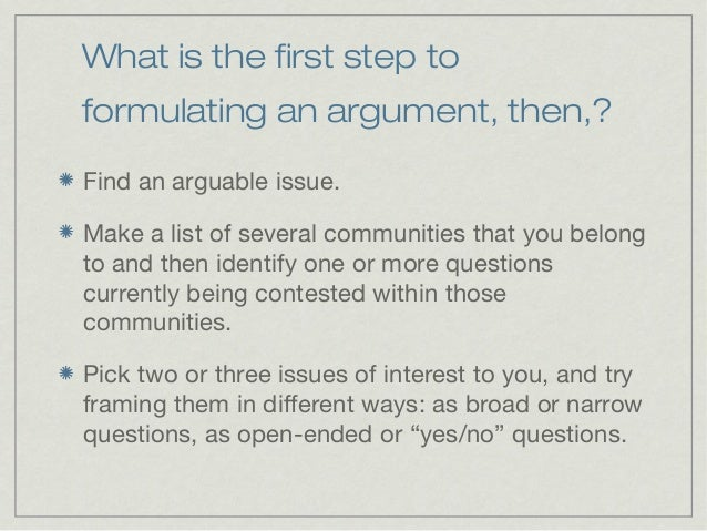 academic argument A brief guide to writing academic arguments prepares students to read and write the types of argument-related source-based writing they are most likely to encounter in college a brief guide.