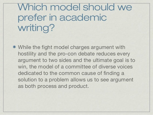 counter argument in academic writing