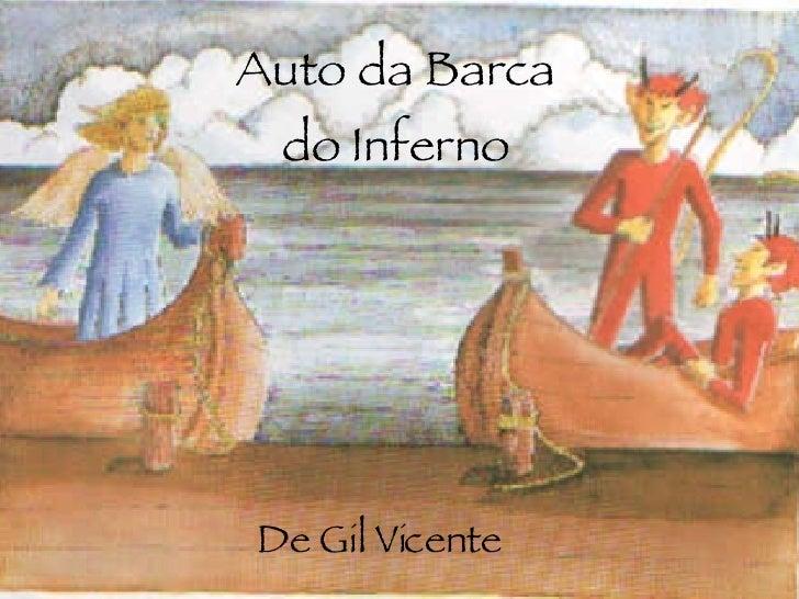 Auto da Barca do Inferno De Gil Vicente