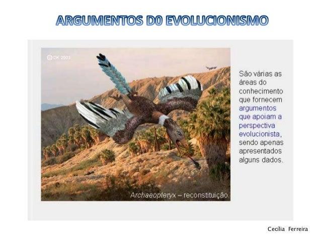 Argumentos do evolucionismo 11ºbg Slide 2
