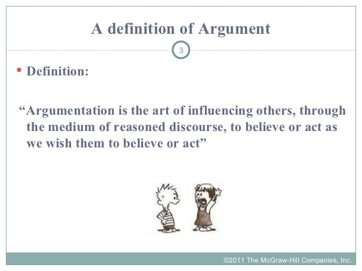 definitional argument Economic arguments it should also be noted that definitional arguments highlight  momentum arguments the most of any category this is due.