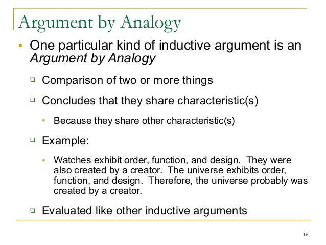 Arguments In Philosophy