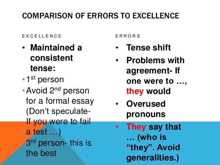 Argument essay tips