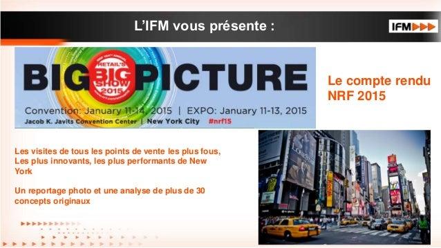 L'IFM vous présente : • Texte de premier niveau – Texte de second niveau • Texte de troisième niveau Les visites de tous l...