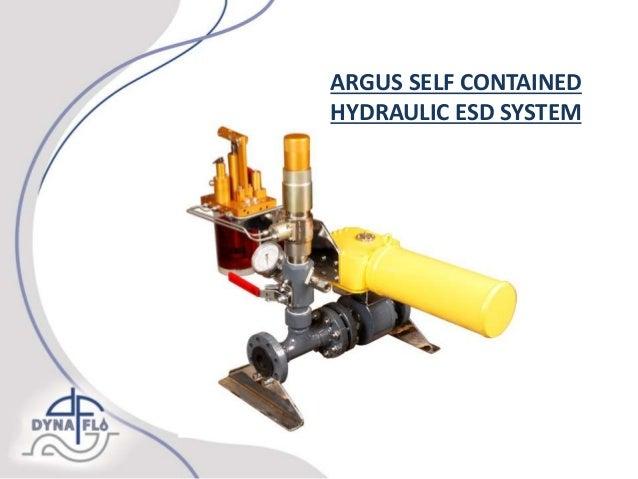 Hydraulic ESD Actuation - Argus Exclusive Distributor