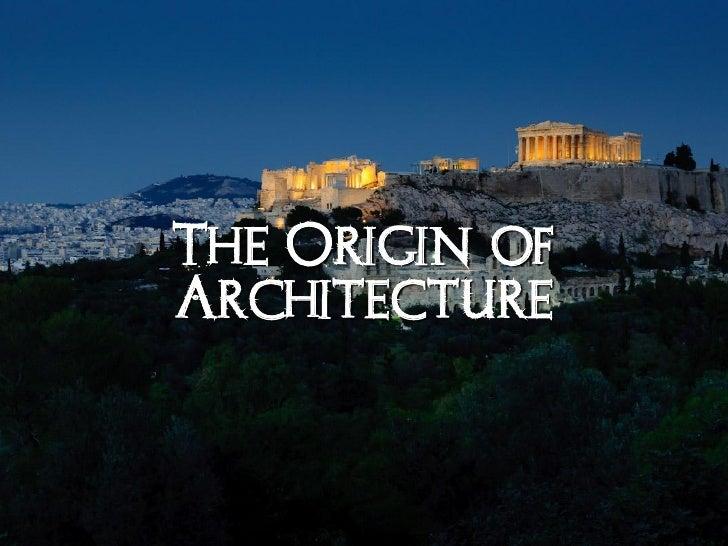 Arh2050 classical greek architecture Slide 2