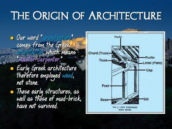 Arh2050 classical greek architecture Slide 3