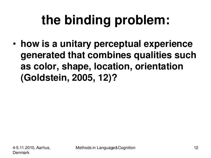 Semantics in Visual Perception: vMethodological Remarks