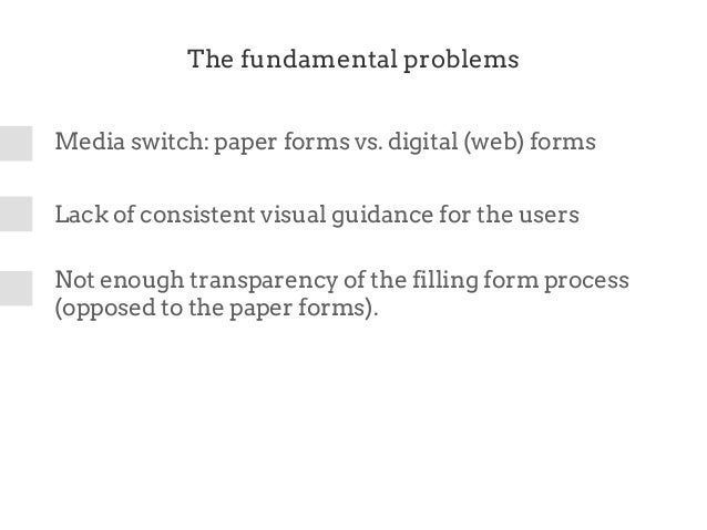 Designing Digital Forms
