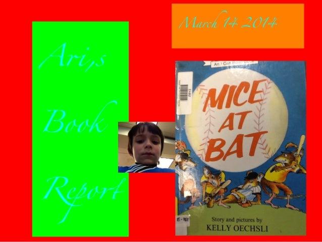 """A!,s Book Repo"""" March 14 2014 Ari"""