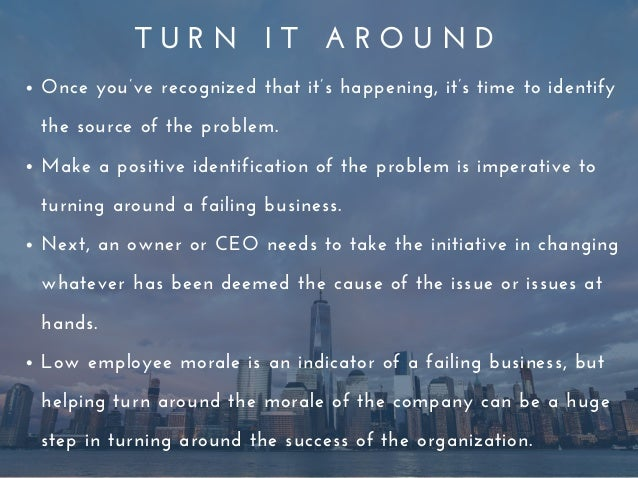 10 Steps to Turnaround a Struggling Business
