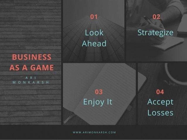 Ari Monkarsh: Business as a Game