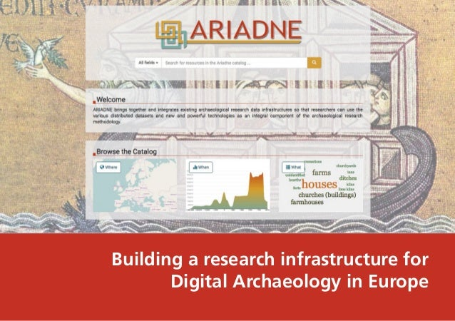 Building a research infrastructure for Digital Archaeology in Europe